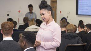 Lauren Roberts, youth engagement
