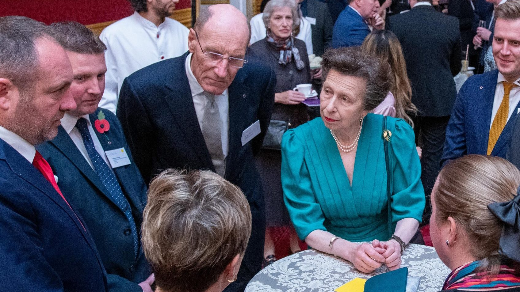 Princess Anne at the Princess Royal Training Awards ceremony