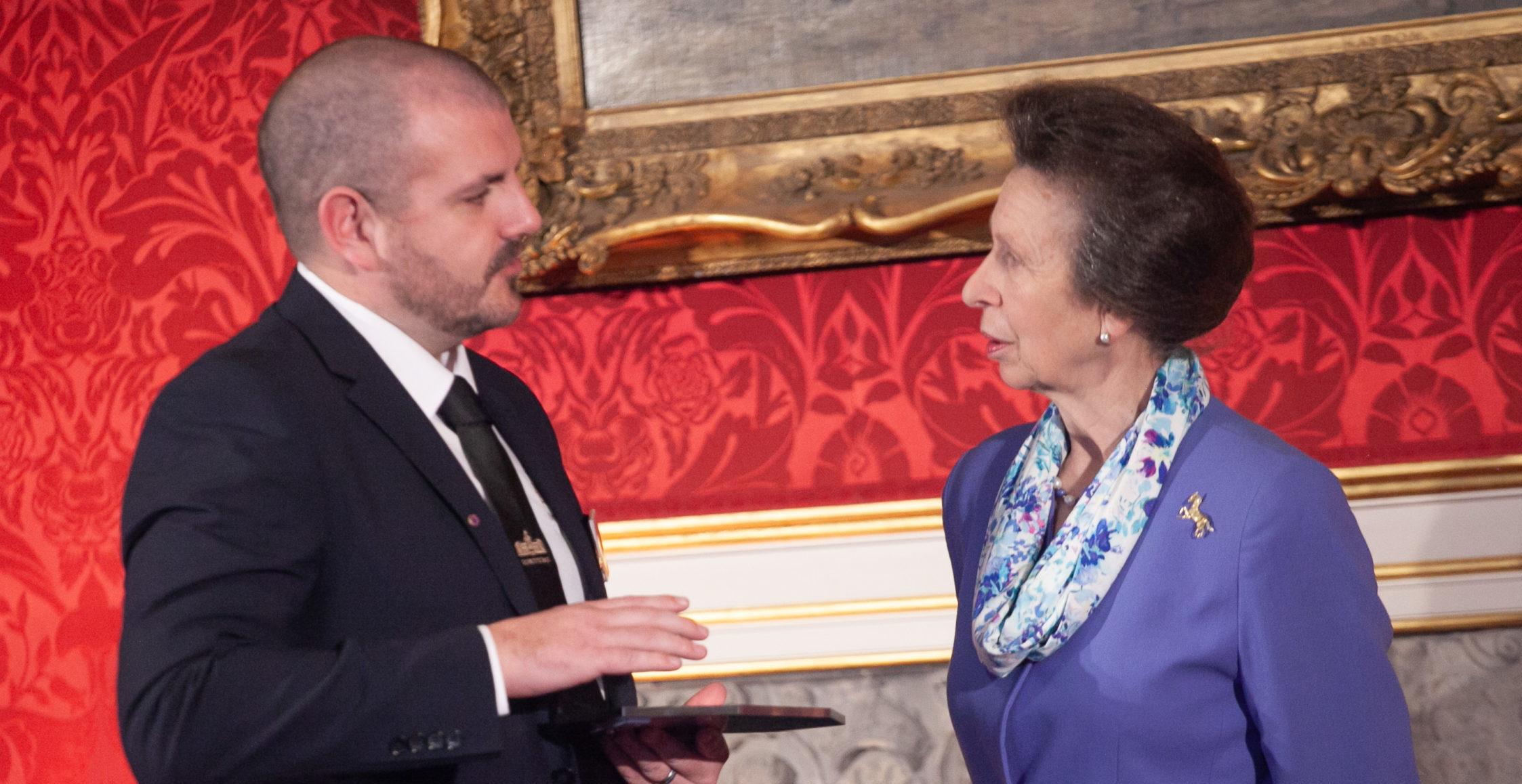 2018 Princess Royal Training Awards