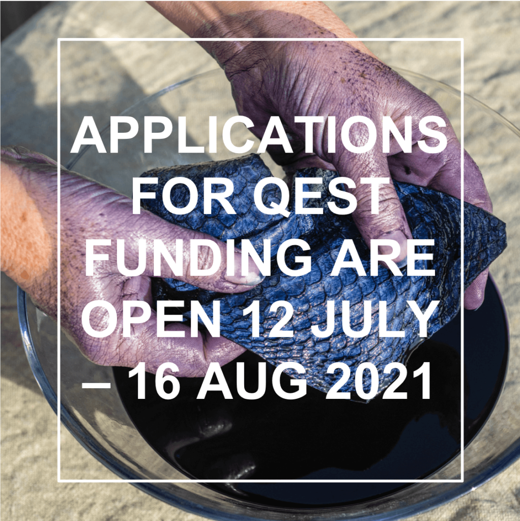 Applications for QEST funding are open 12 July - 16 August 2021