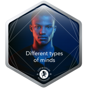 Different types of minds digital credential