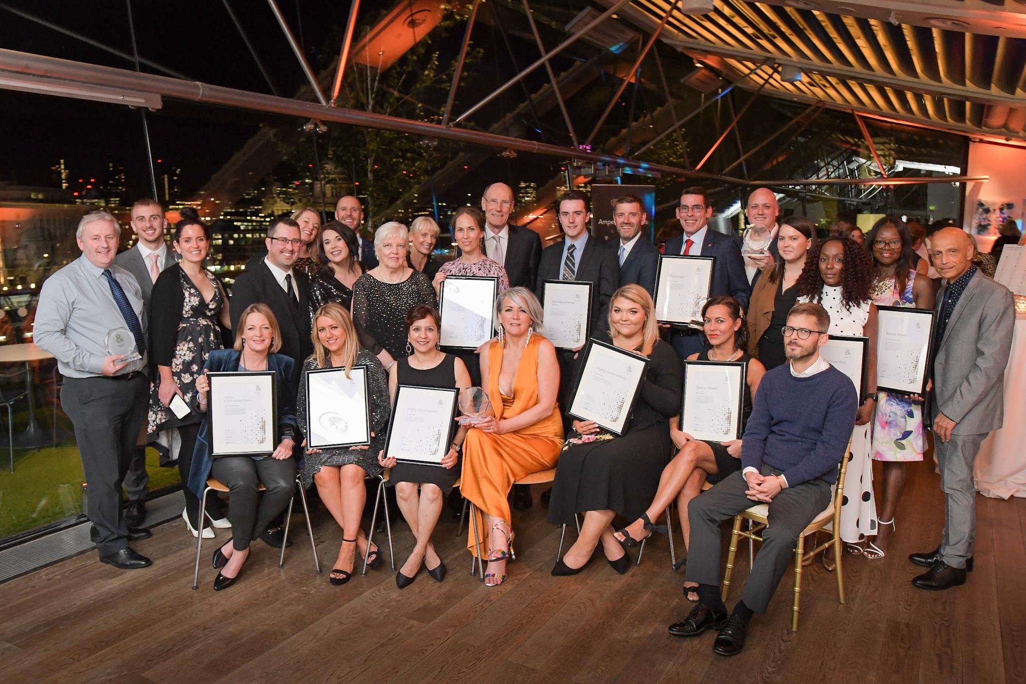 Ampersand Award recipients 2019