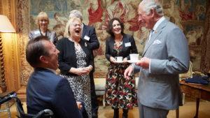 Dumfries House graduation with HRH Prince Charles and Dr Ann Limb FCGI