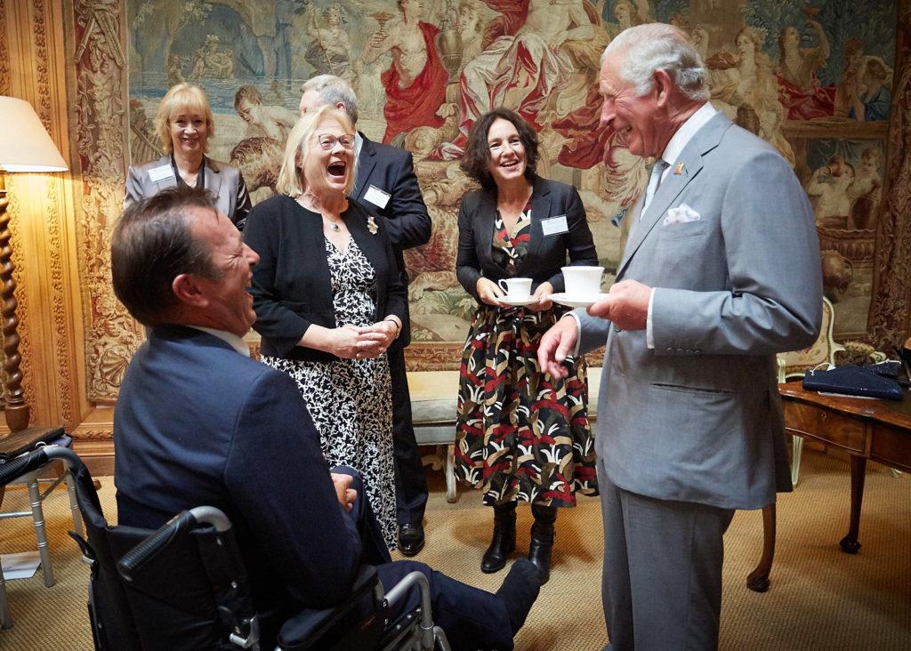 Graduation at Dumfries house with HRH The Princess Royal and Dr Ann Limb FCGI